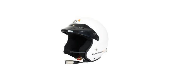 CASQUE FIA JET-RS INTERCOM STILO TROPHY BLANC