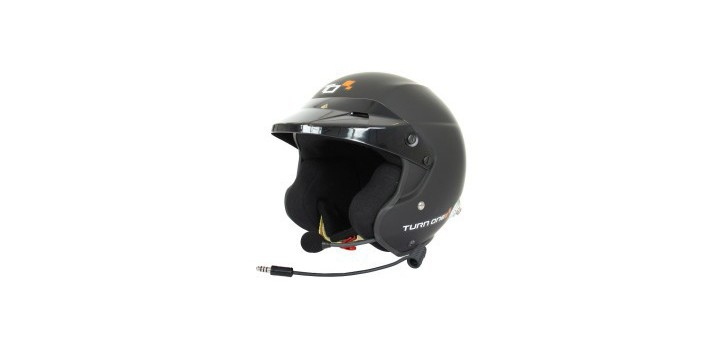 CASQUE FIA JET-RS INTERCOM PELTOR NOIR MAT