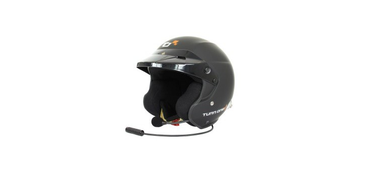 CASQUE FIA JET-RS INTERCOM STILO WRC NOIR MAT