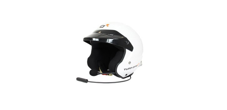CASQUE FIA JET-RS INTERCOM STILO WRC BLANC