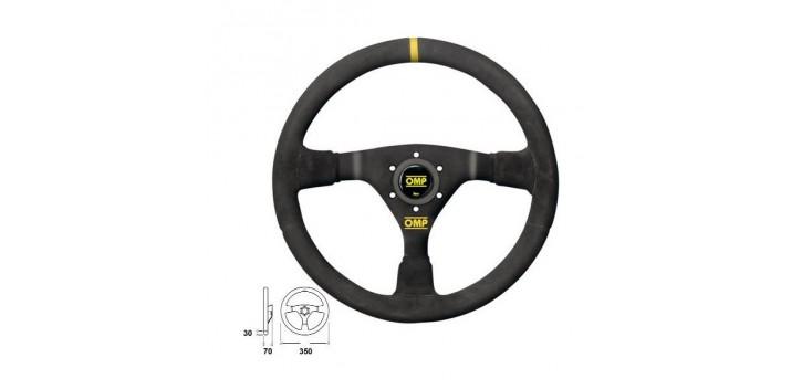 Volant OMP WRC PEAU RETOURNEE
