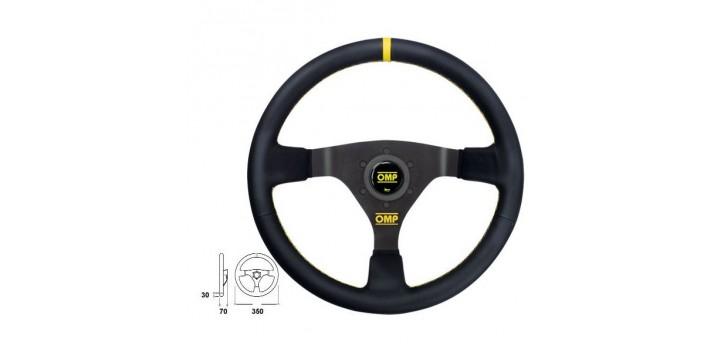 Volant OMP WRC CUIR