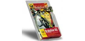 Kit flexibles de freins aviation peugeot 106 tous modèles à 4 disques(4 flexibles)
