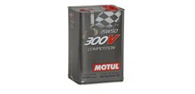 HUILE MOTUL 300V COMPETITION 5L 15W50