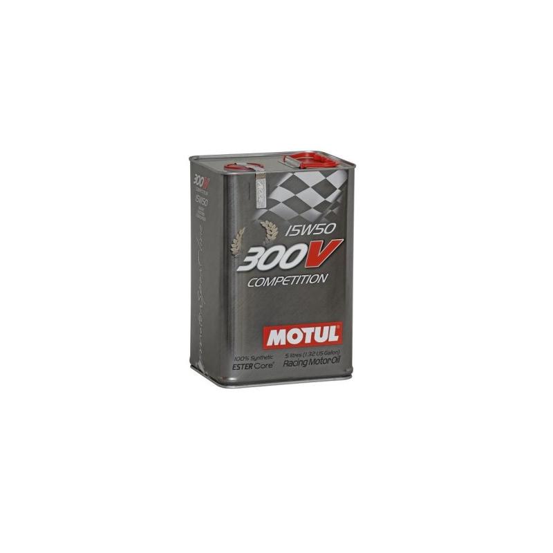 20e46b4a39b620 HUILE MOTUL 300V COMPETITION 5L 15W50. Loading zoom