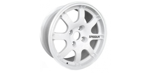 Jante SPEEDLINE PTS blanche 205/309 groupe A