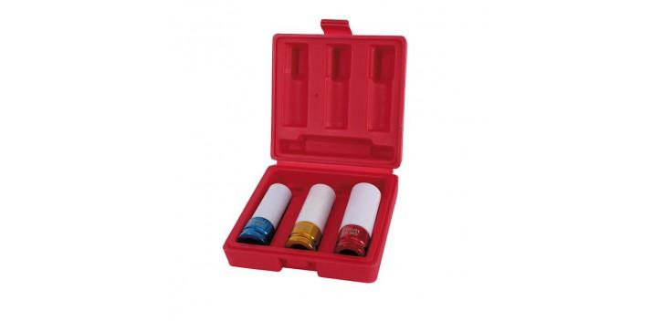 Douilles à chocs REDSPEC diamètres 17, 19 et 21 mm