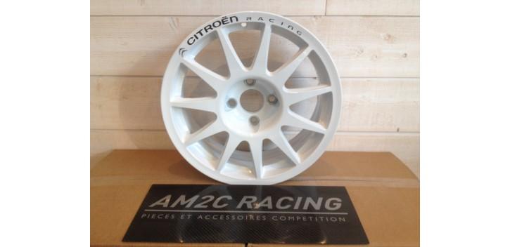 JANTE SPEEDLINE TURINI TYPE 2120 CITROEN C2 R2 MAX/DS3 R1 blanc 16 pouces