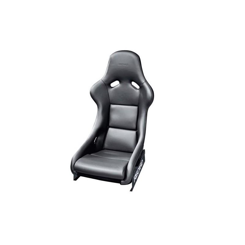 baquet fia recaro cuir noir modele pole position. Black Bedroom Furniture Sets. Home Design Ideas