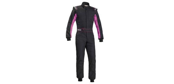 Combinaison FIA SPARCO Sprint RS-2.1 édition limitée noir / rose