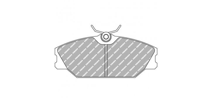 FERODO DS 2500 Avant RENAULT CLIO 2 RS 172/182