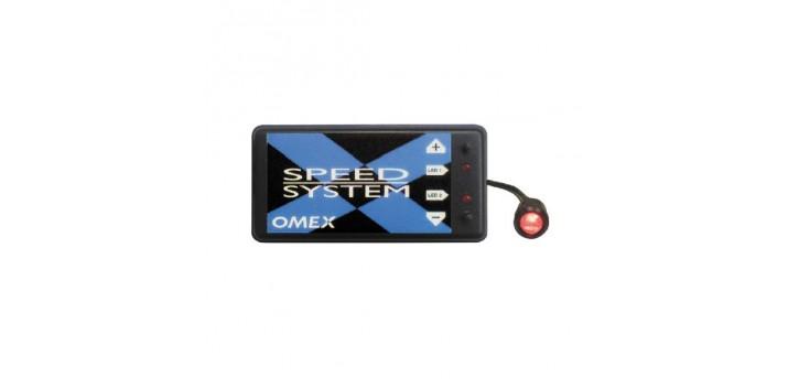 Limiteur de régime OMEX SPEED SYSTEM avec SHIFT LIGHT pour allumage simple bobine