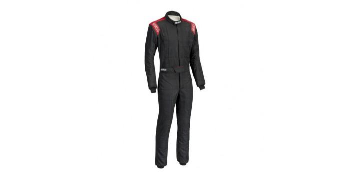 COMBINAISON FIA SPARCO R-506 CONQUEST noir / rouge