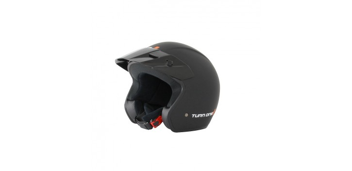 Casque Jet TURN ONE Track noir