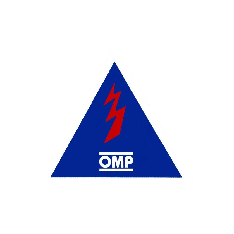 Autocollant Coupe Circuit: Sticker Omp Coupe Circuit