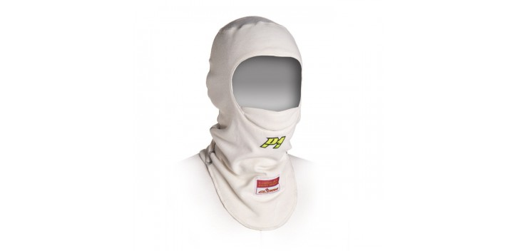 Cagoule FIA P1 blanc