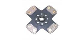 Disque rigide fritté REDSPEC pour RENAULT CLIO 16S/WILLIAMS/R5 GT TURBO
