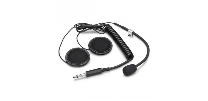 Kit Micro+écouteurs pour radio Sparco IS-110 pour casque jet