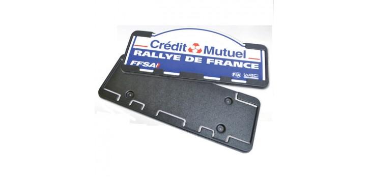 SUPPORT PLAQUE DE RALLYE REDSPEC