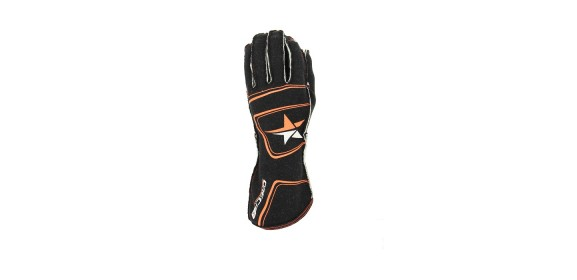 GANTS FIA TURN ONE PRO NOIR/ORANGE