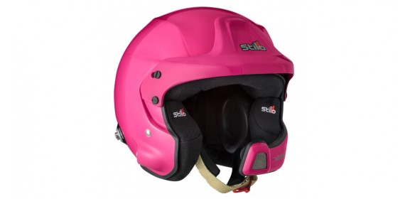 CASQUE STILO WRC DES RALLY COMPOSITE SA2015 ROSE FUSHIA