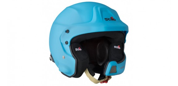 CASQUE STILO WRC DES RALLY COMPOSITE SA2015 BLEU METAL