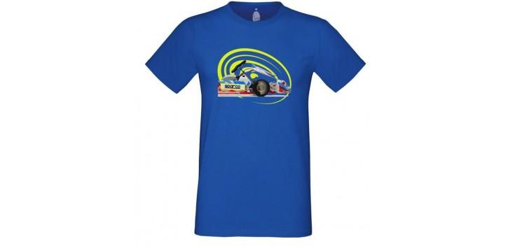 T-shirt SPARCO Go bleu pour homme