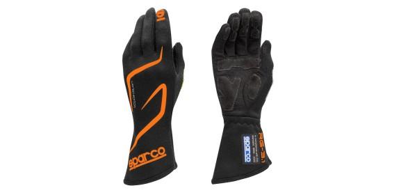 Gants FIA SPARCO Land RG-3.1 édition limitée noir/orange fluo