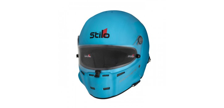 Casque FIA Intégral STILO ST5F Composite, SNELL SA 2015/FIA 8858-2015 BLEU CLAIR