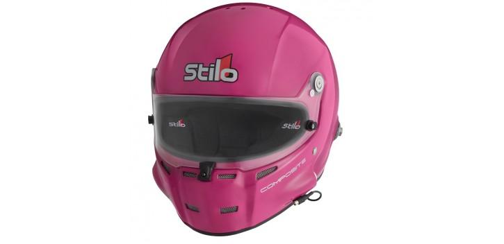 Casque FIA Intégral STILO ST5F Composite, SNELL SA 2015/FIA 8858-2015 ROSE