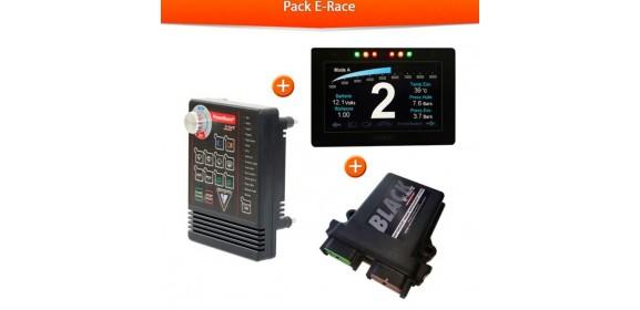 PACK E RACE POWERBOARD+DASHBOARD+CALCULATEUR BLACK