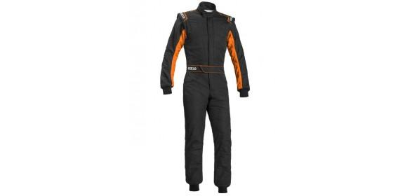 Combinaison FIA SPARCO Sprint RS-2.1 édition limitée noir/orange