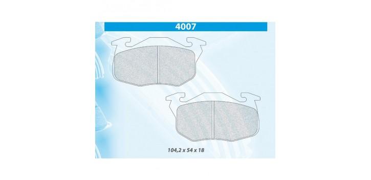 PLAQUETTES FREIN CL BRAKES 106 RALLYE 1300/1400 XSI/205 RALLYE/205 GTI 1,6