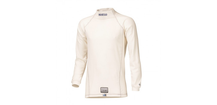 Tricot manches longues FIA SPARCO Guard RW-3 blanc