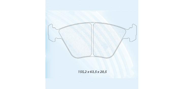 PLAQUETTES FREIN CL BRAKES M3 E36/E46/Z3M/Z4M