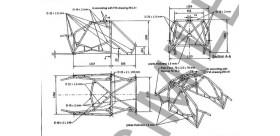 ARCEAU OMP POUR RENAULT CLIO 3 RS MULTIPOINTS A SOUDER ASSEMBLE