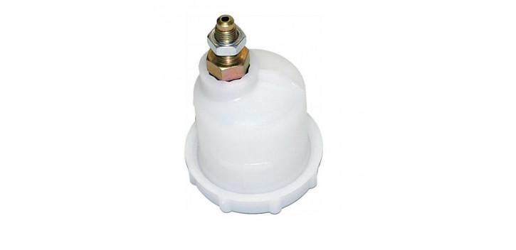 Bocal de liquide de frein REDSPEC 7/16UNF sortie décalée