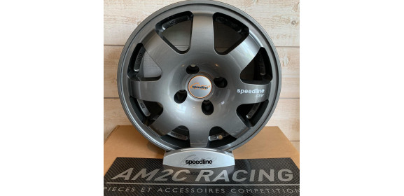 JANTE SPEEDLINE TYPE 675 PEUGEOT/CITROEN ANTHRACITE 15 POUCES