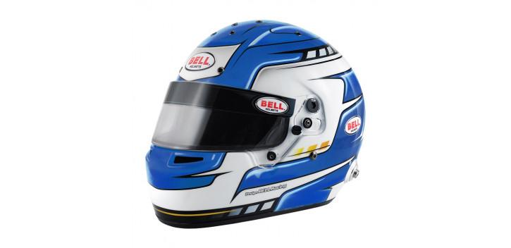 Casque FIA intégral BELL RS7 Pro Falcon bleu SA 2015