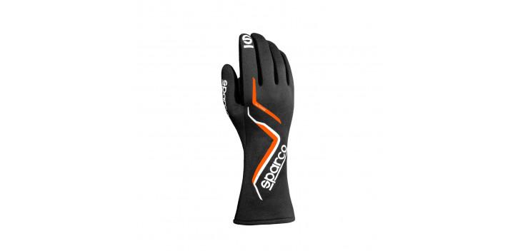 Gants FIA SPARCO Land édition limitée noir/orange fluo