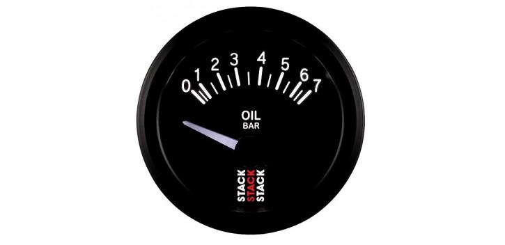 Manomètre STACK électrique pression huile 0-7 bars