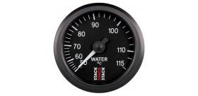 Manomètre STACK mécanique température eau 50-115°C noir