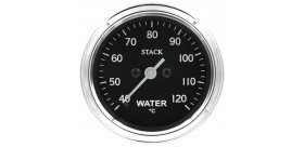 Manomètre STACK analogique pro classique température eau 40-120°C