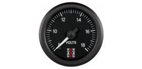 Manomètre STACK analogique pro voltmètre 8-18V