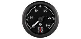 Manomètre STACK analogique pro température huile 40-140°C