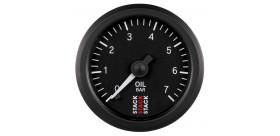 Manomètre STACK analogique pro pression huile 0-7 bars