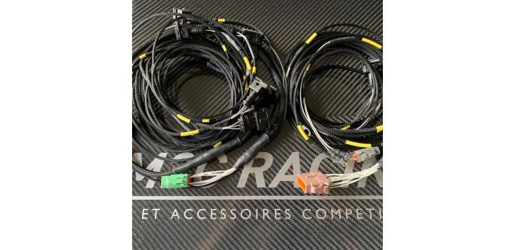 FAISCEAU FINI POUR CALCULATEUR E-RACE BLACK MOTEUR 4 CYLINDRES