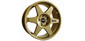 JANTE GTZ CORSE TYPE 2121 SUBARU 5X114,30 ET48 18 POUCES OR