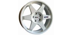 JANTE GTZ CORSE TYPE 2121 HONDA 5X114,30 ET35 18 POUCES BLANC