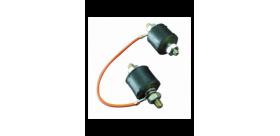 Kit 2 silent blocs pompe à essence FACET